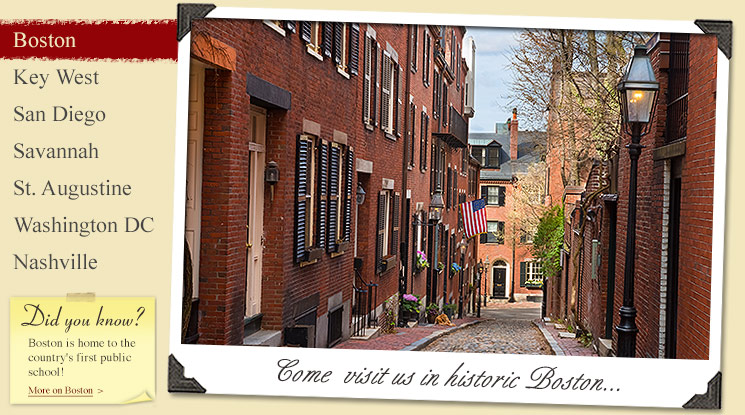 Image of Street in Historic Boston