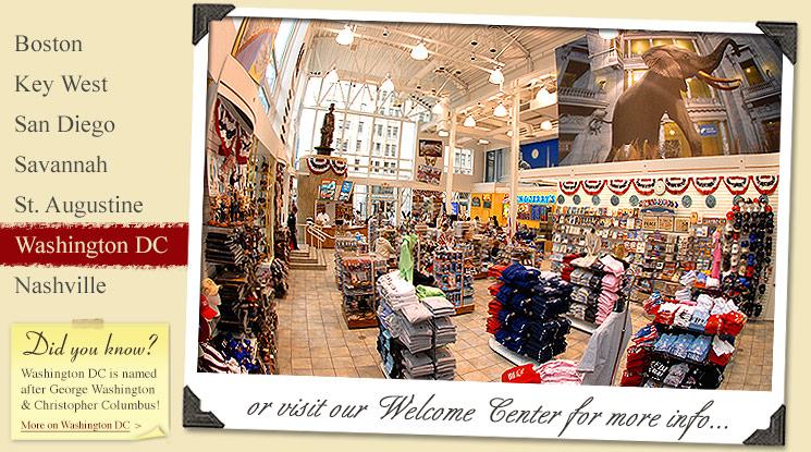 Image of Washington, DC Tour Company Welcome Center