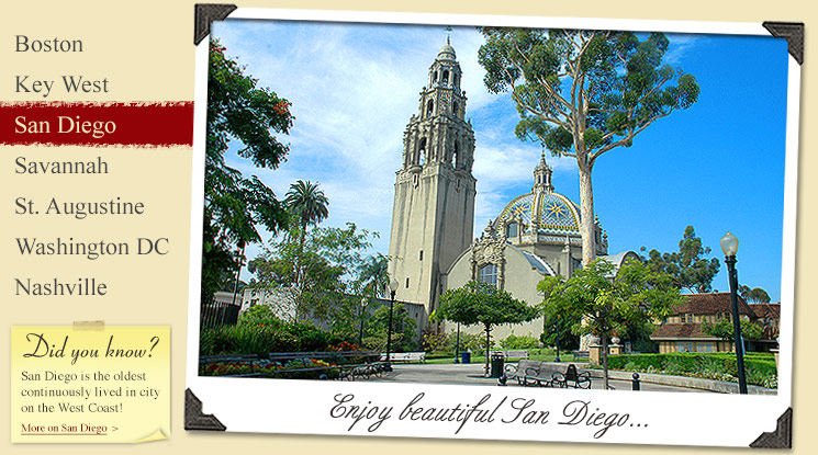 Image of San Diego Attractions